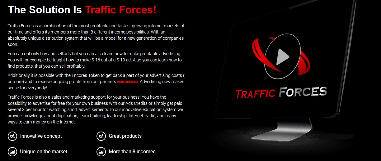 Traffic Forces - free traffic and advertising